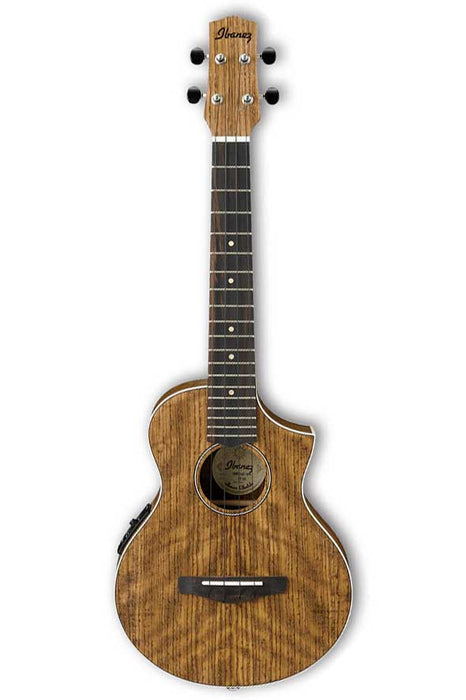 Ibanez UEWT14E Acoustic Electric Tenor Ukulele - Open Pore Natural