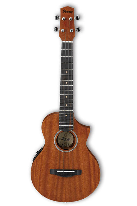 Ibanez UEWT5E Acoustic Electric  Tenor Ukulele - Open Pore Natural