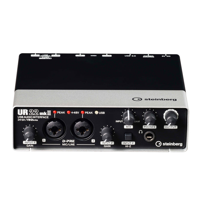 Steinberg UR22 MKII 2x2 USB Audio Interface