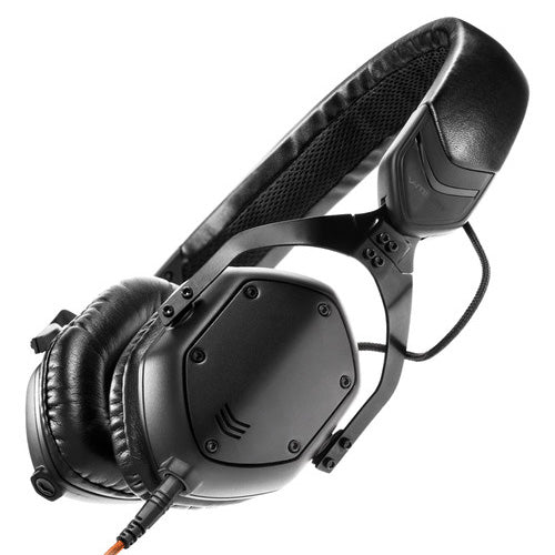 V-Moda XS On-Ear Headphones - Matte Black Metal