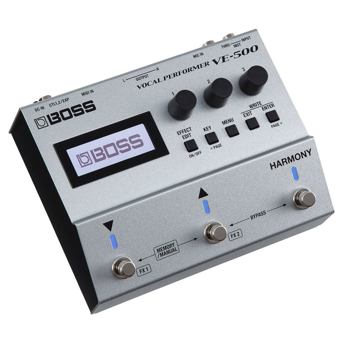 BOSS VE-500 Vocal Performer Multi-Effects Pedal