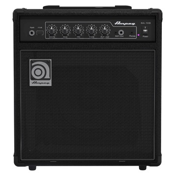 Ampeg BA-108v2 20 Watt Bass Combo Amp - Bananas at Large