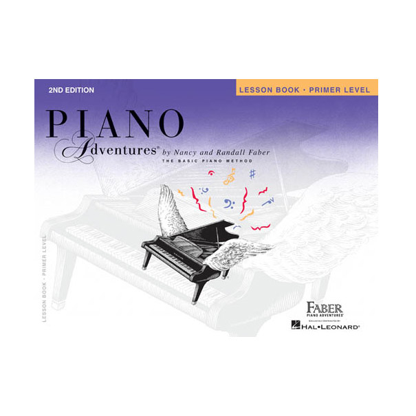 Hal Leonard Piano Adventures Lesson Book Primer Level 2nd Edition - Bananas At Large®