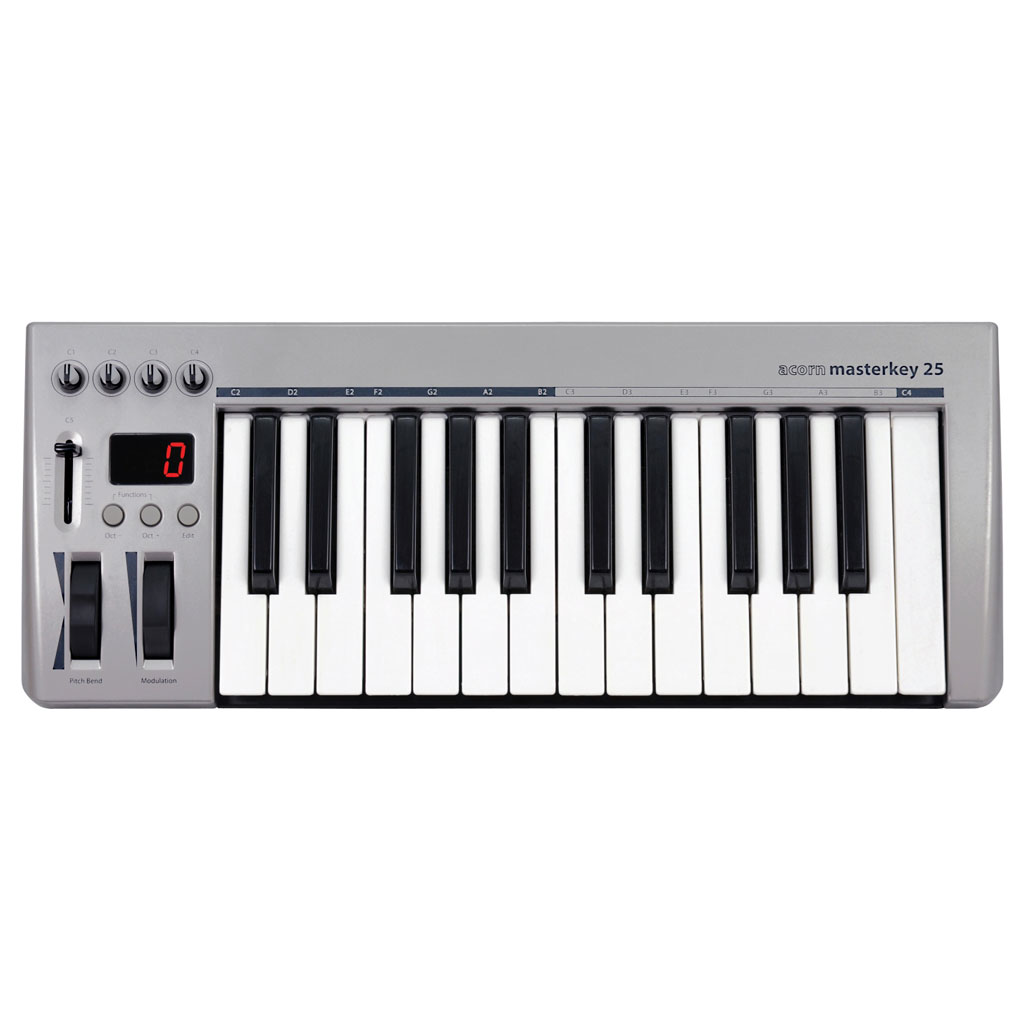 Acorn 25 note USB controller keyboard. Incl. Presonus Studio One Artist - Bananas At Large®