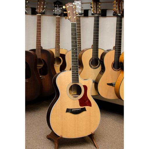 Taylor 414ce Grand Auditorium Acoustic Electric Guitar - Bananas at Large - 1