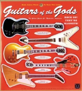 Guitars of the Gods Magnet Set - Bananas At Large®