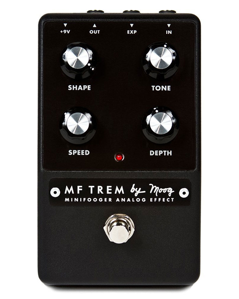 Moog MFS-TREM-01 Minifooger Analog Tremolo Pedal - Bananas at Large - 1