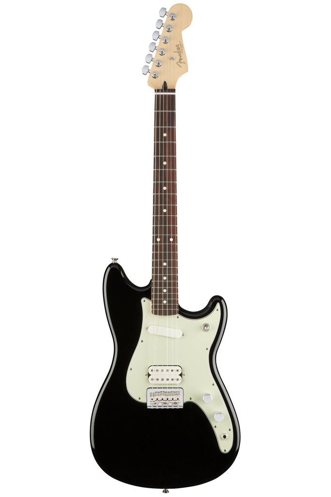 Fender Duo Sonic HS with Rosewood Fingerboard - Black - Bananas At Large®