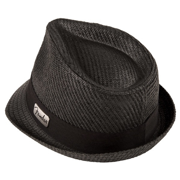 Fender Straw Fedora, Black, L/XL - Bananas At Large®