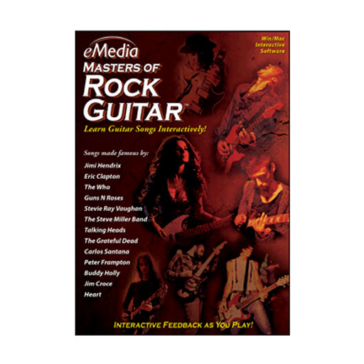 eMedia Masters of Rock Guitar - MAC [Download] - Bananas at Large