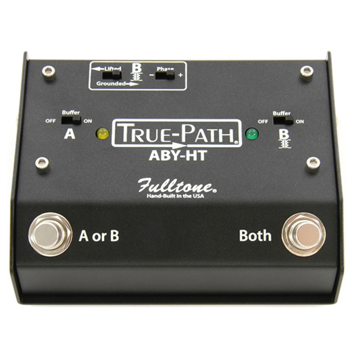 Fulltone Custom Shop True-Path ABY-HT Hard Touch Switching Box - Bananas At Large®