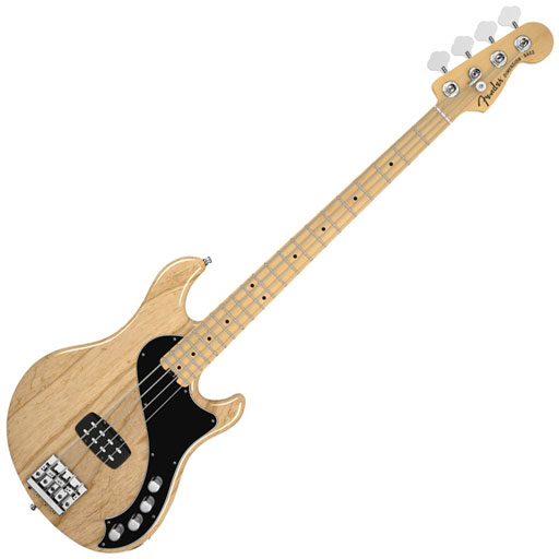 Fender American Deluxe Dimension Bass IV with Maple Fingerboard - Natural - Bananas At Large®