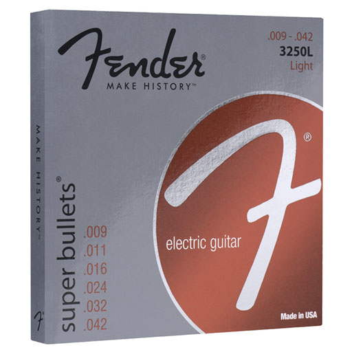 Fender 3250L Super Bullets Electric Strings - Light - Bananas At Large®