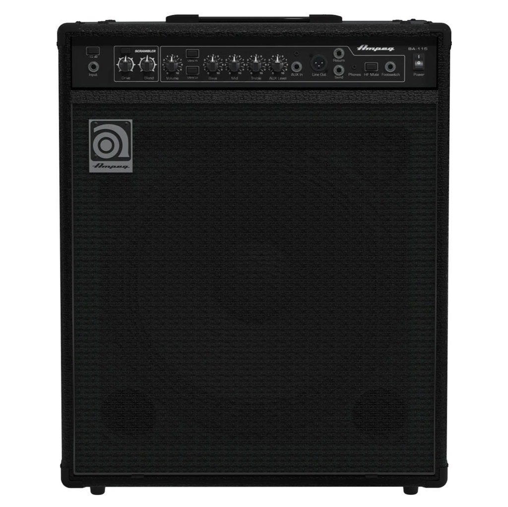 Ampeg BA-115v2 150 watt Bass Combo Amp - Bananas at Large