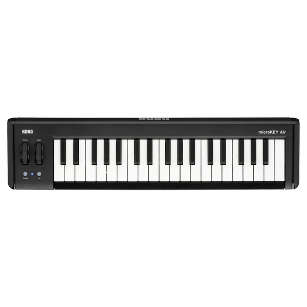 Korg Microkey Air 37-Key Bluetooth and USB MIDI Controller - Bananas At Large®