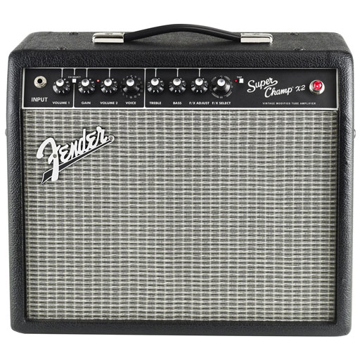 Fender Super Champ X2 15 Watt Combo Amp - Bananas at Large - 1