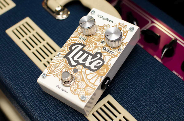 DigiTech Luxe Compact Polyphonic Detuner Pedal - Bananas At Large®