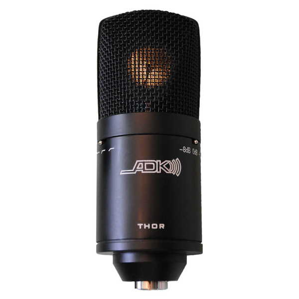 ADK Microphones THOR Tri-Polar-Pattern Condenser Mic with Mount - Bananas At Large®
