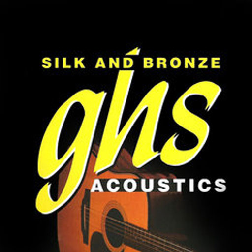 GHS Acoustic Guitar Strings Silk and Bronze Light - Bananas at Large