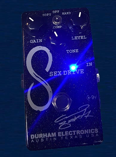 Durham Electronics Sex Drive 15th Anniversary Edition Clean Boost Pedal - Bananas at Large