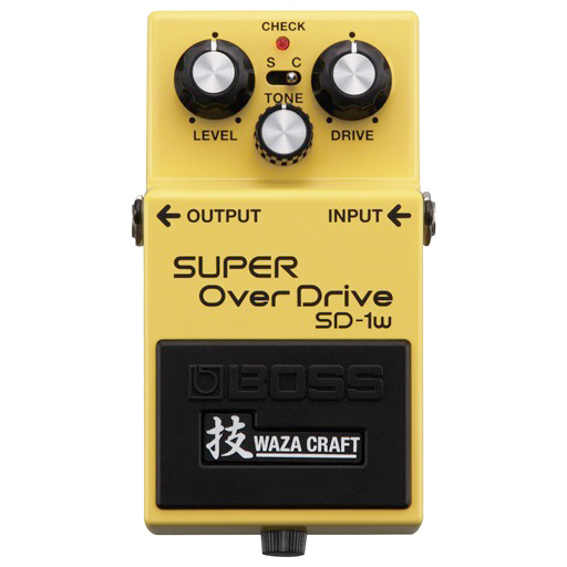 Boss SD-1W Super Overdrive Waza Craft Special Edition Pedal - Bananas at Large - 1