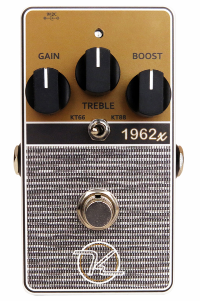 Keeley 1962x Limited Edition with Overdrive Boost Pedal - Bananas at Large