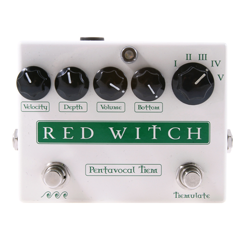Red Witch Pentavocal Tremolo Effect Pedal - Bananas at Large