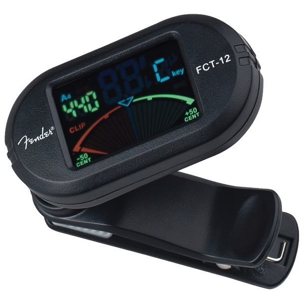 Fender FCT-12 Color Clip-On Tuner - Bananas at Large