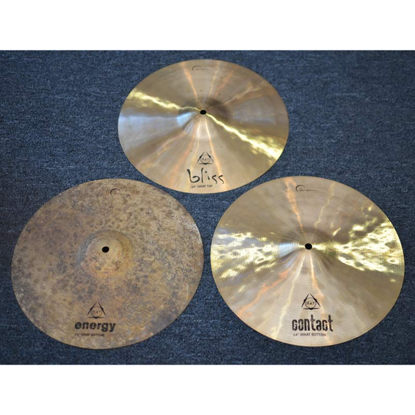 Dream Cymbals Tri Hat Diversity 14 in. Cymbal Set