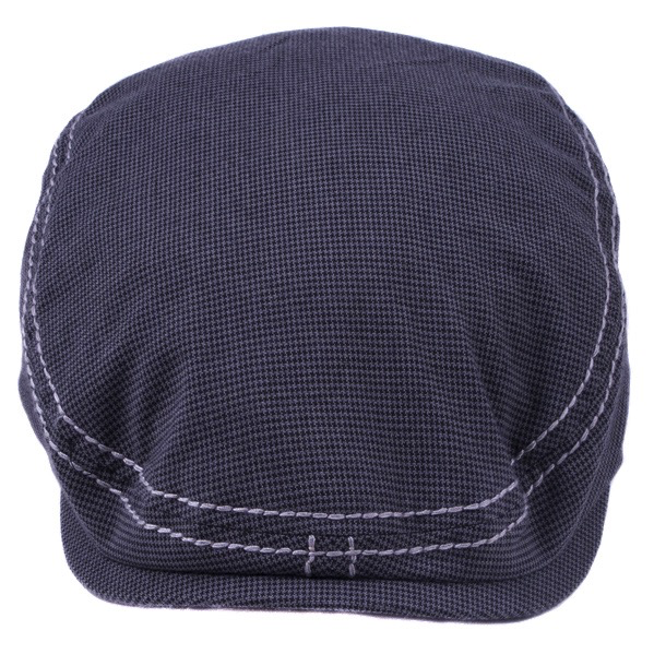 Fender Drivers Cap, Gray/Black Houndstooth, S/M - Bananas at Large - 4