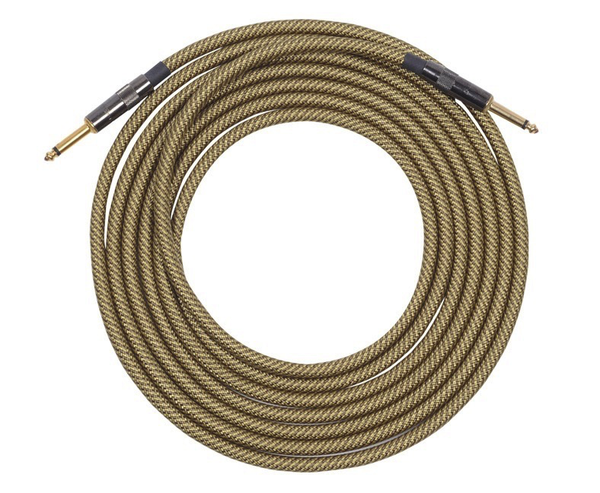 Lava Vintage Tweed Guitar Cable 15ft Straight to Straight - Bananas at Large