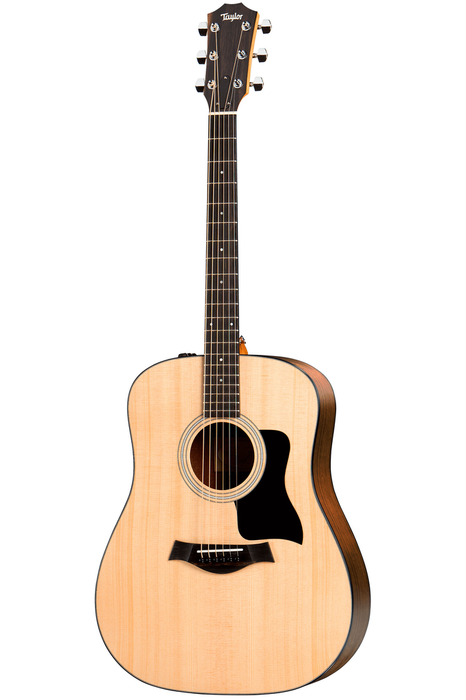 Taylor 110e Dreadnought Acoustic Electric Guitar - Layered Walnut Back and Sides