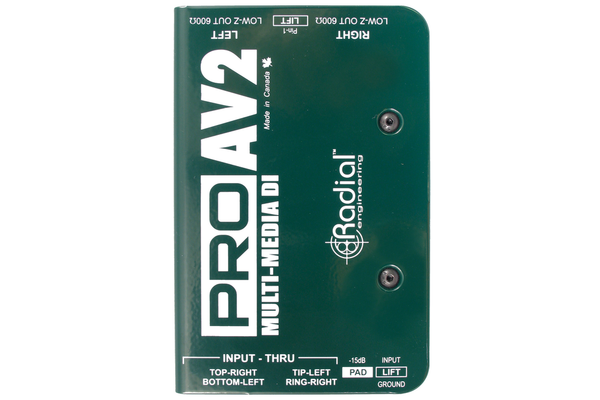 Radial ProAV2 Stereo Direct Box