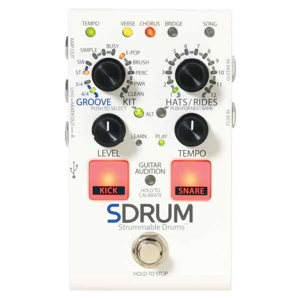 DigiTech SDRUM Drum Machine Pedal