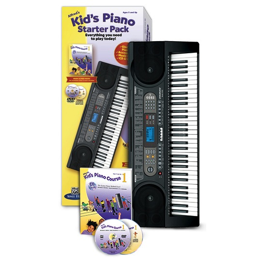 Alfred Kid's Piano Starter Pack - Bananas At Large®