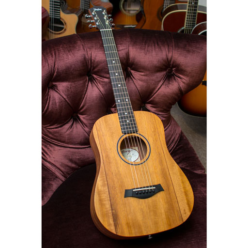 Taylor BT2 Baby Taylor Mahogany Left-Handed Acoustic Guitar with Gig Bag - Bananas at Large