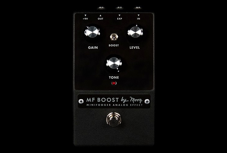 Moog Minifooger Boost Pedal - Bananas at Large - 1