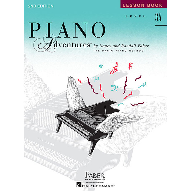 Hal Leonard Piano Adventures Level 3A Lesson Book 2nd Edition - Bananas At Large®