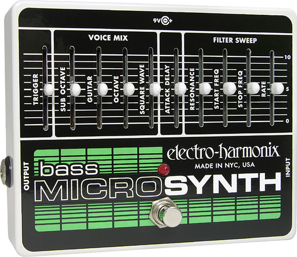 Electro-Harmonix BassMicro Synthesizer Analog Microsynth - Bananas at Large
