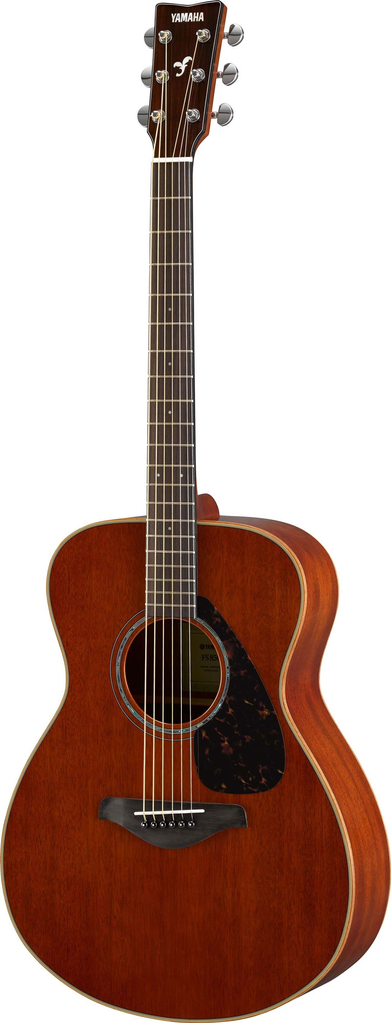 Yamaha FS850 Small Body Acoustic Guitar in All Mahogany - Bananas at Large - 1
