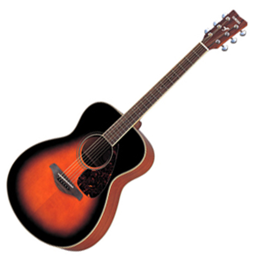 Yamaha F720S Acoustic Guitar, Tobacco Brown Sunburst - Bananas at Large