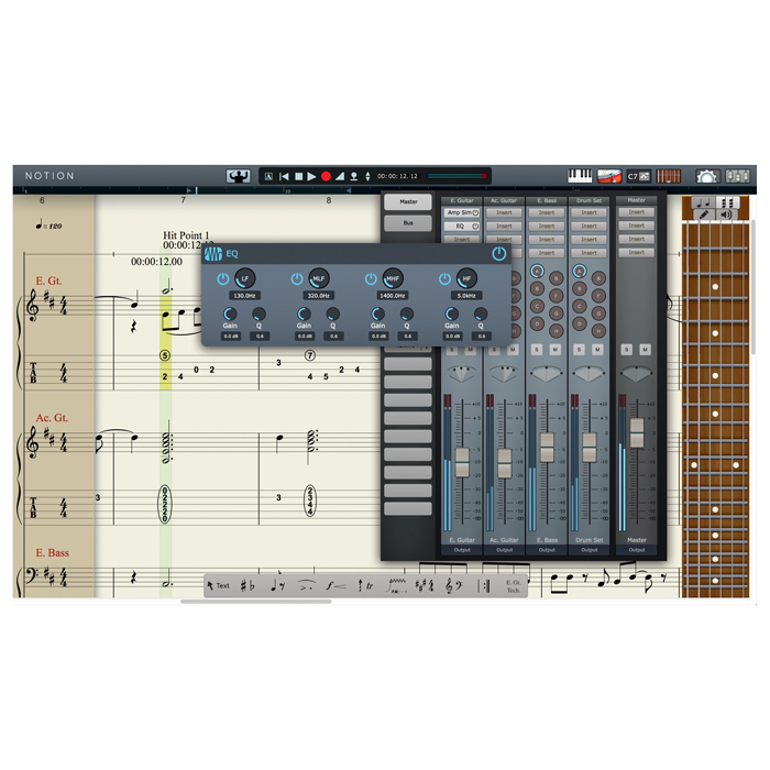 Presonus 141172 Notion 5 Notation Software [Download] - Bananas at Large