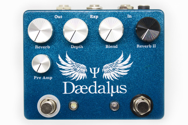 CopperSound Daedalus Dual Reverb Pedal - Bananas at Large - 1