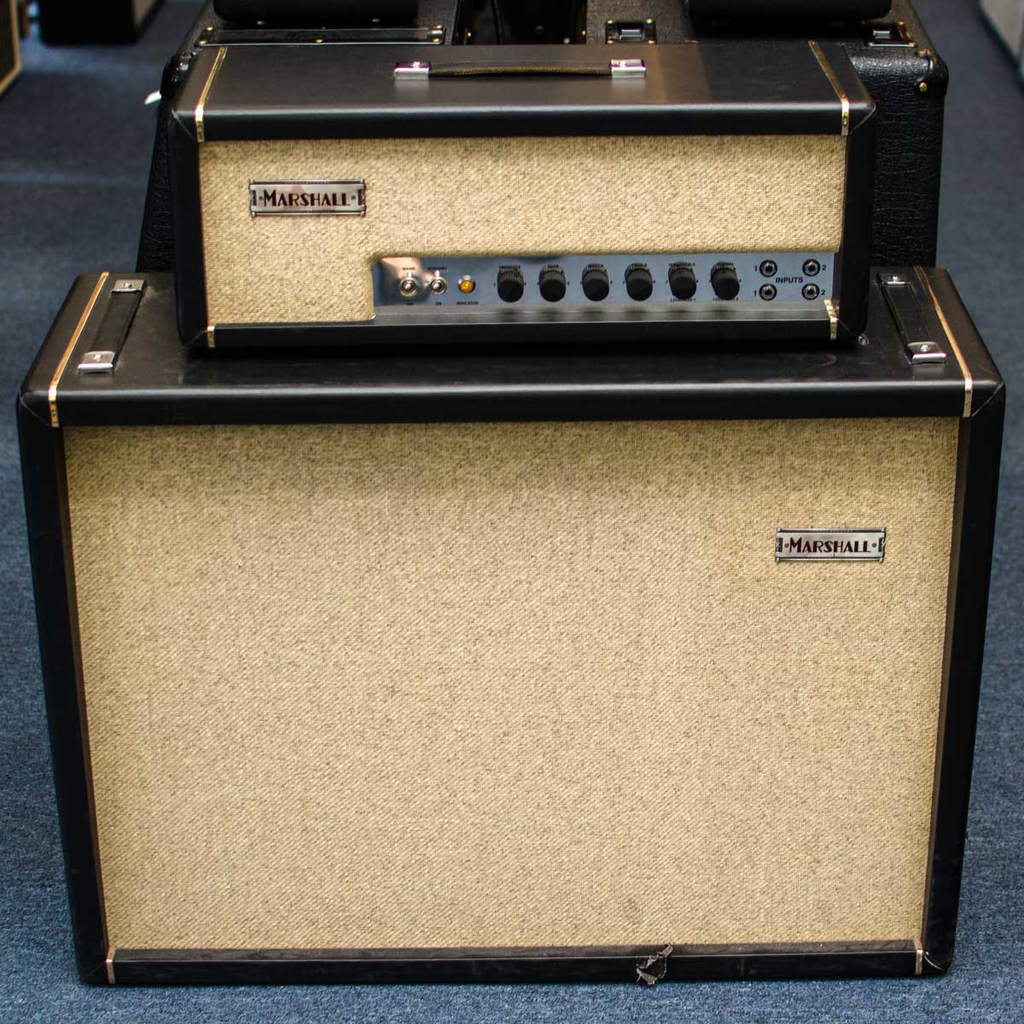 Marshall LTD Edition Handwired JTM45 Offset with Cab (11 of 300)(Joe Satriani Private Collection)(Pre-Owned) - Bananas at Large - 1