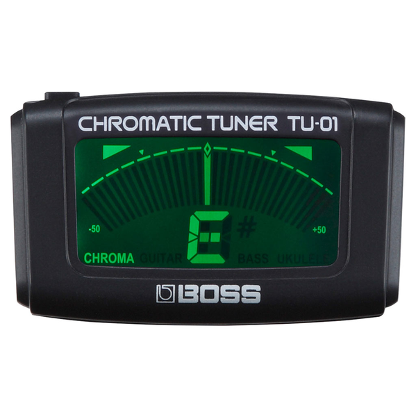 Boss TU-01 Clip-On Chromatic Tuner - Bananas at Large