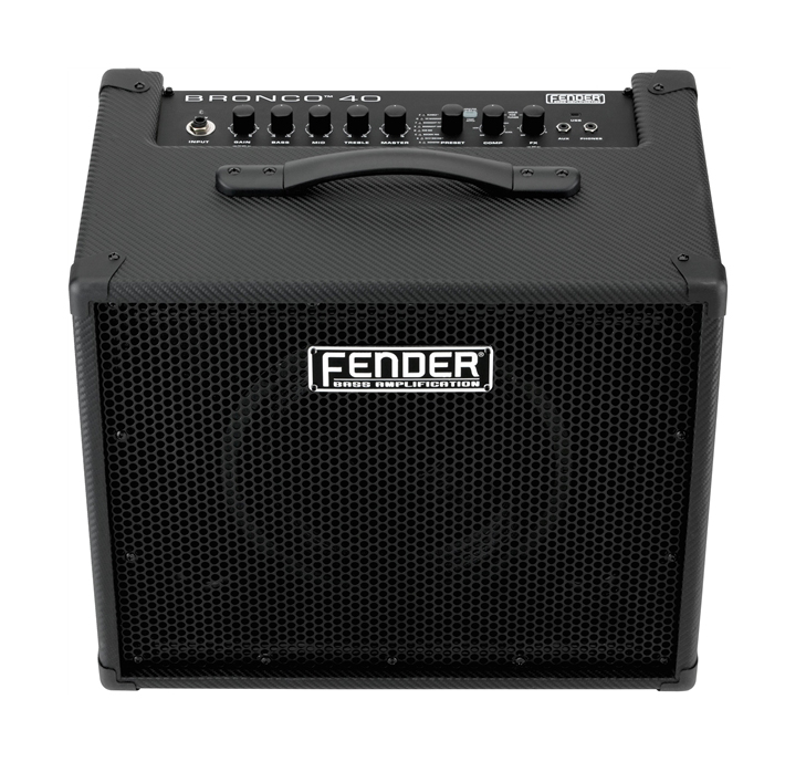 Fender Bronco 40 40W 1x10 Bass Combo Amp, Black - Bananas At Large®