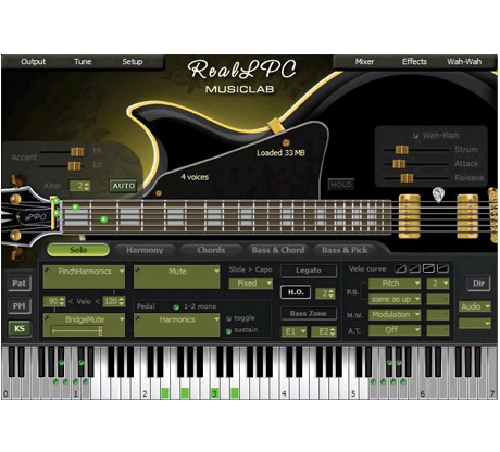 Musiclab RealLPC Les Paul Guitar Accompaniment Plug-in [Download] - Bananas at Large