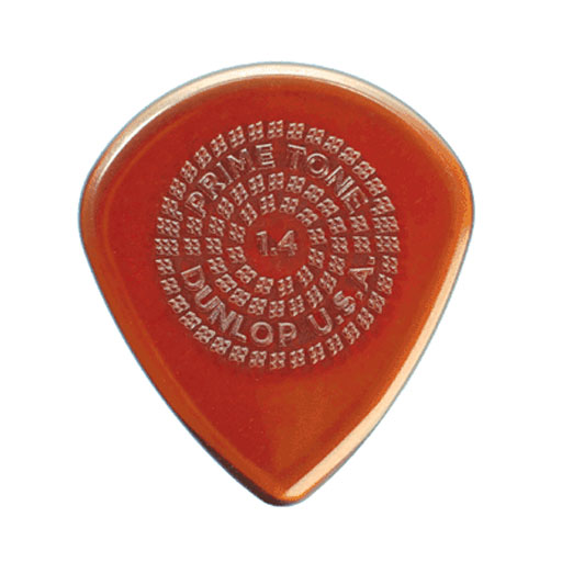 Dunlop 518P1.4 3-Pack PrimeTone Jazz III Sculpted Plectra - Bananas at Large