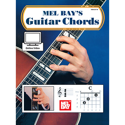 Mel Bay Guitar Chords - Book and Online Video