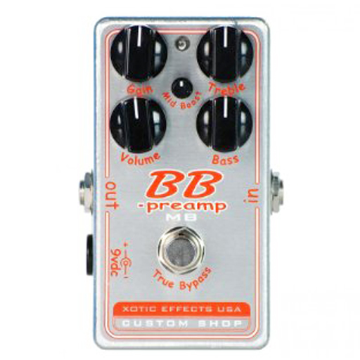 Xotic Custom Shop BB-Preamp MB - Bananas at Large